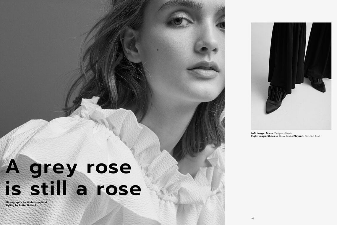 A grey rose is still a rose
