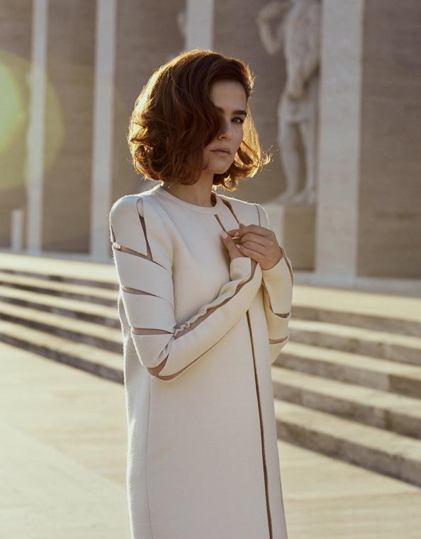 Zoey Deutch L'Officiel Fashion Celebrity WIB Production Rome Fendi
