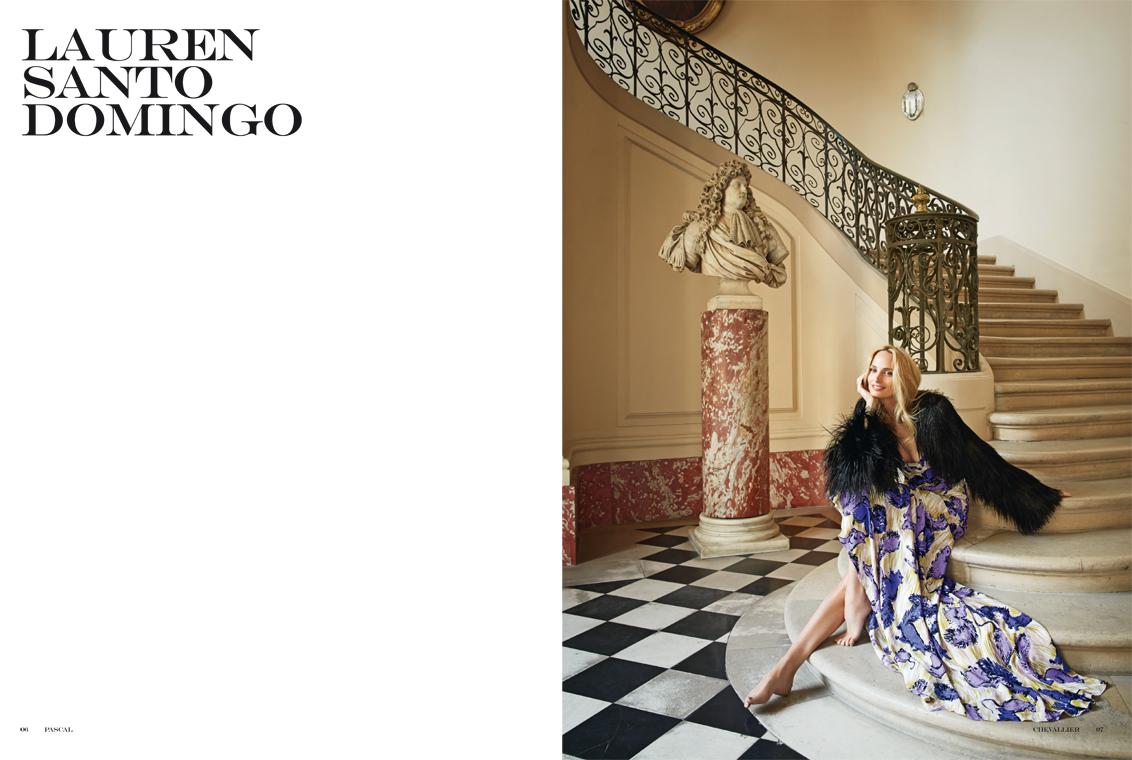 Elle Italia – Lauren Santo Domingo