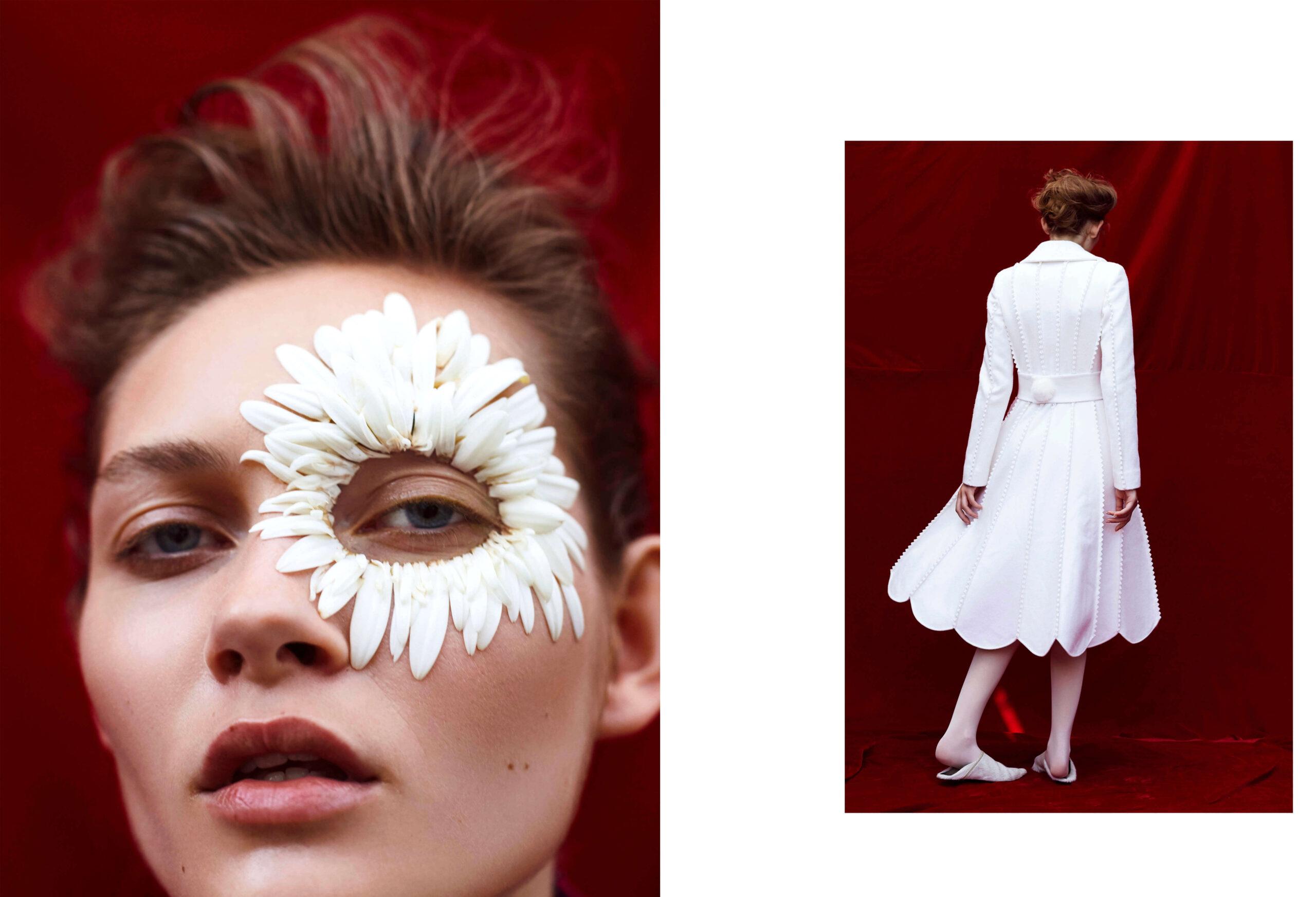 Elle Mexico : White Flowers