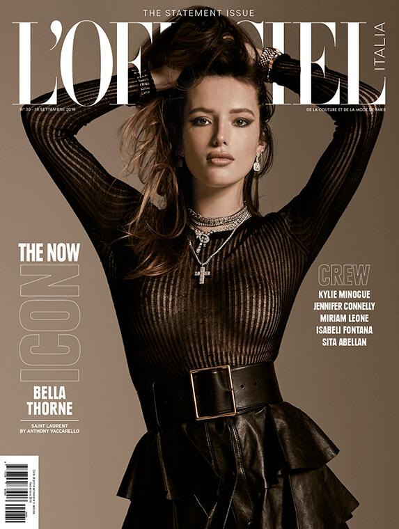 L'Officiel : Bella Thorne