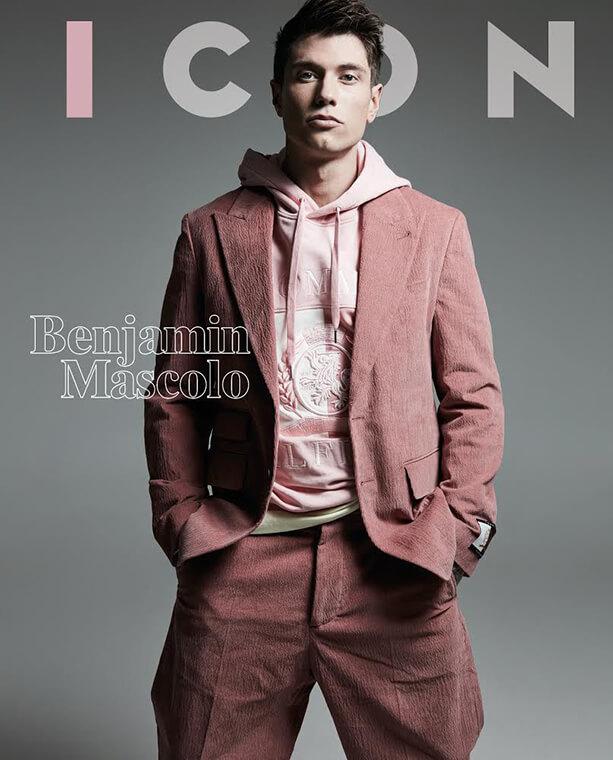 Icon Magazine : Benjamin Mascolo