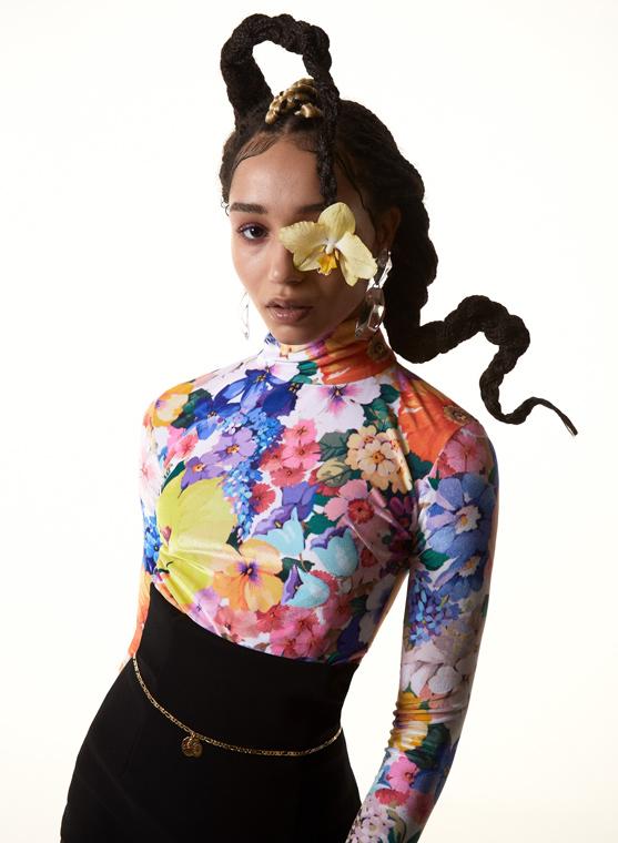 Slimi Magazine : Dea Flora